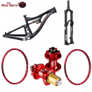 2015 PIVOT Mach 6 Bundle Offer: Pikes / Hope Pro2 / Spank Oozy