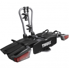 Thule 931 EasyFold 2-bike towball carrier with AcuTight torque knobs 13-pin