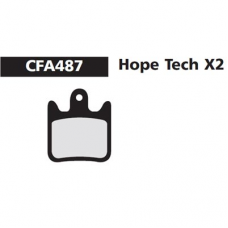 CFA 487 Hope X2 Brake Pads (Sintered)