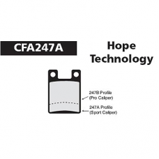 CFA 247A Hope Pro Open Brake Pads (Sintered)