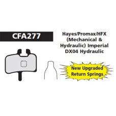 CFA 277 Hayes/Promax Brake Pads (Sintered)