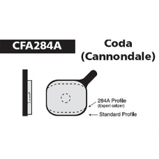 CFA 284A Coda Expert Brake Pads (Sintered)