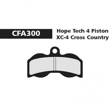 CFA 300 Hope XC4 CC Brake Pads (Sintered)