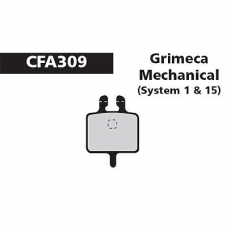 CFA 309 Grimeca Syst 1 Brake Pads (Sintered)