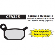 CFA 325 HFormula B4 Hyd Brake Pads (Sintered)