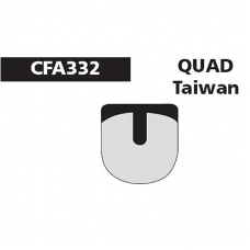 CFA 332 Quad Taiwan Brake Pads (Sintered)