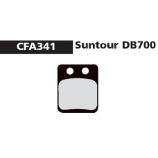 CFA 341 Suntour DB700 Brake Pads (Sintered)
