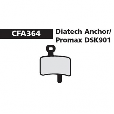 CFA 364 Promax DSK 901 Brake Pads (Sintered)