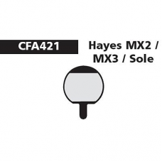 CFA 421 Hayes MX2 & MX3 Brake Pads (Sintered)