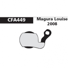 CFA 449 Magura Louise 07 Brake Pads (Sintered)