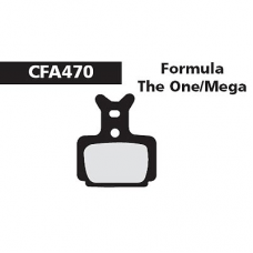 CFA 470HH Formula The One Brake Pads (Sintered)