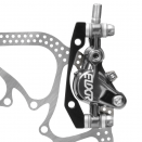 Avid Elixir 9 Carbon Lever Grey Anodized Disc Brake w/ HS1 Rotor (IS and Post Mount)