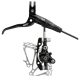 Avid Elixir X0 Black/Black Disc Brake w/ 140mm G3CS Rotor (includes - standard clamp, MMX clamp/shifter Mount) (IS & Post Mount)