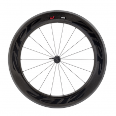 Zipp 808 Firecrest Carbon Clincher Front Wheel 18 spokes Black Decal