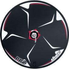 Carbon disc wheel for 9 / 10-speed - rear tubular